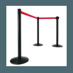 delimitador-preto-fita-vermelha